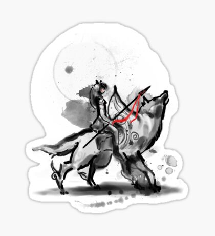 princess monokami Sticker