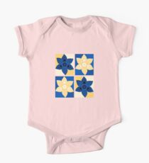 Daffodils pattern One Piece - Short Sleeve