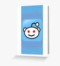 Reddit Designs Greeting Card