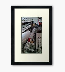 Legos Look Good on Everything Framed Print