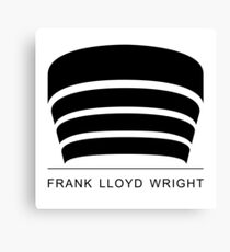 Frank Lloyd Wright Logo Canvas Print