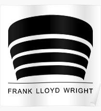 Frank Lloyd Wright Logo Poster