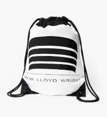 Frank Lloyd Wright Logo Drawstring Bag