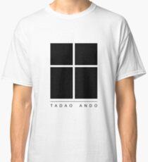 Tadao Ando Logo Classic T-Shirt