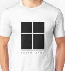 Tadao Ando Logo Unisex T-Shirt