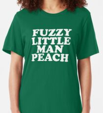 Old Gregg - Fuzzy Little Man Peach Slim Fit T-Shirt