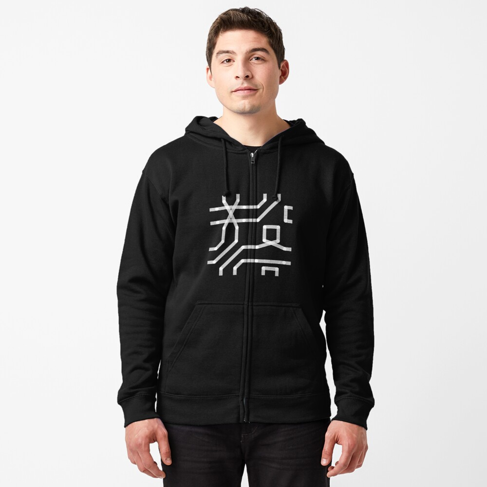 HATE - CONNECT Zipped Hoodie