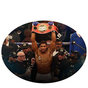 Anthony Joshua Boxing World Champion  by RighteousOnix