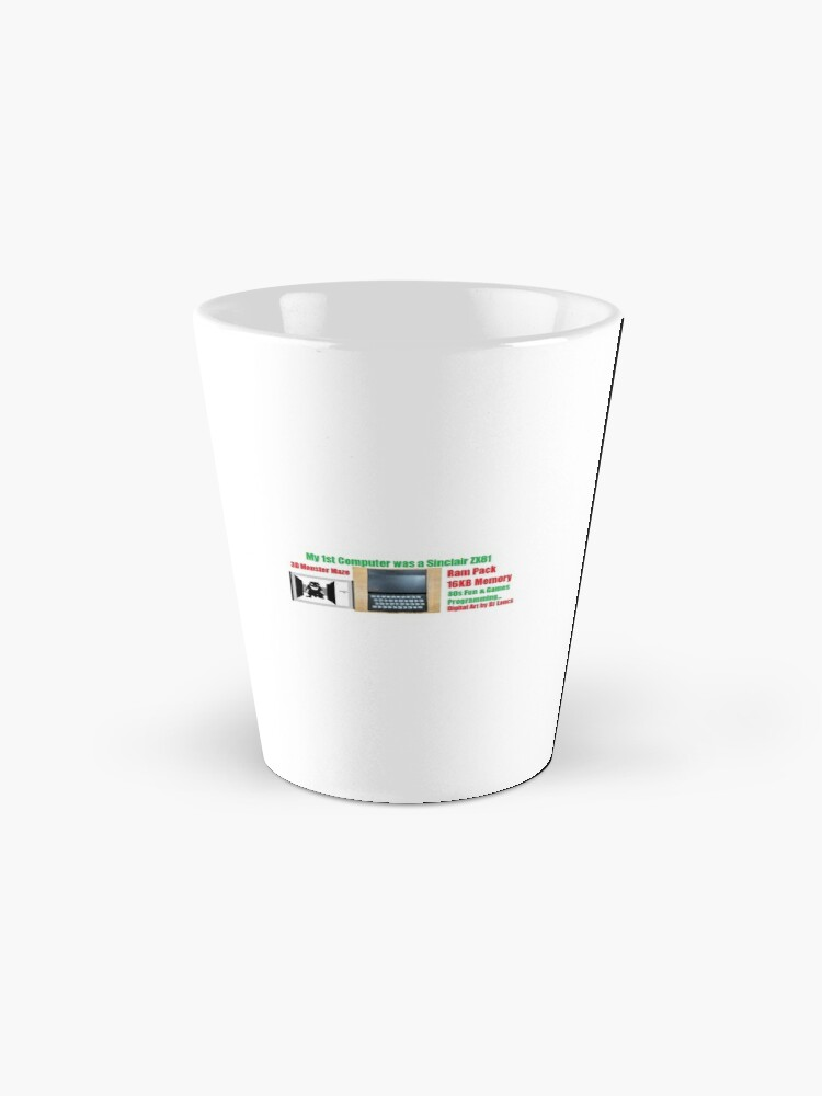 Alternate view of My First Computer Was A Sinclair ZX81 Mug