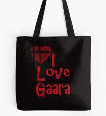 I Love Gaara  Tote Bag