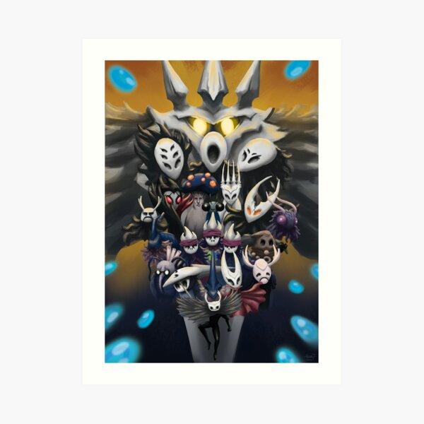 Fan Art Hollow Knight Impression artistique