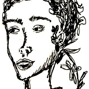 Rodarte Floral Lady 1 by zeevloga