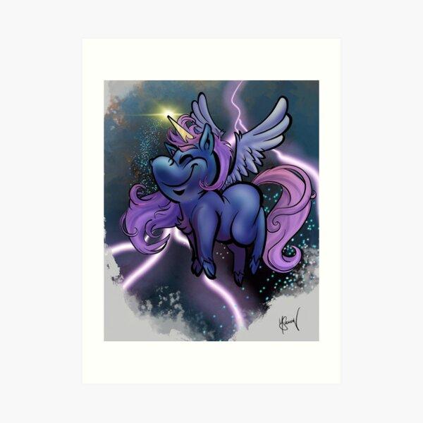 Goddess' little pal Boomer Art Print