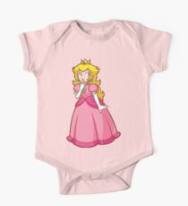 Princess Peach! - Surprised Kids Clothes