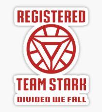 Team Stark Sticker