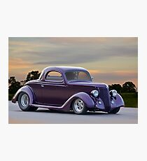 1936 Ford 'Pro Street' Coupe Photographic Print