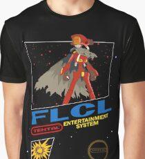 Retro Canti FLCL black box mock up  Graphic T-Shirt