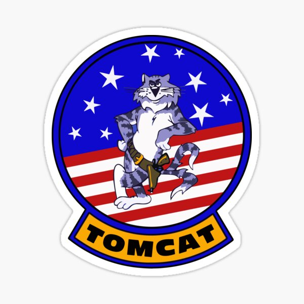 F-14 Tomcat Insignia Sticker
