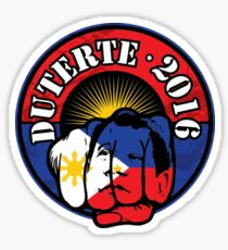 """Ito ang TAMA"" (This is correct) sticker for Rodrigo Duterte. TAMA. """