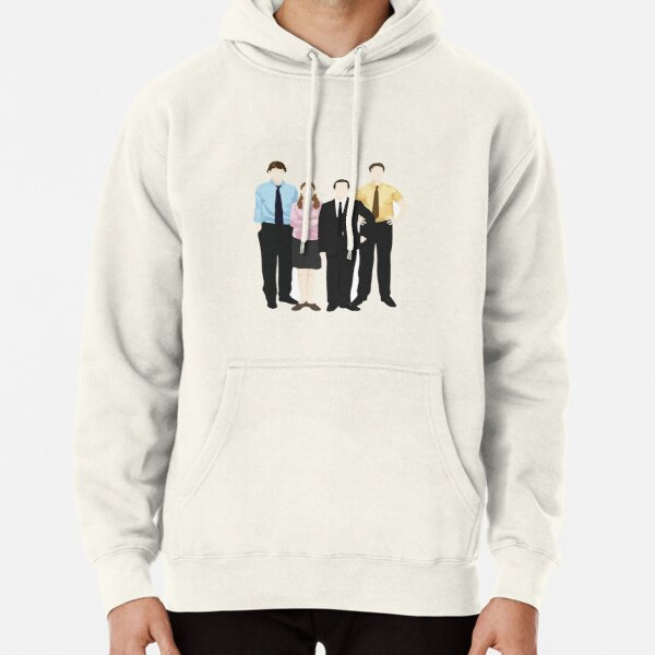 The Office Sticker Pullover Hoodie