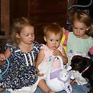 Easter with the grandkids by Diana Grunwald