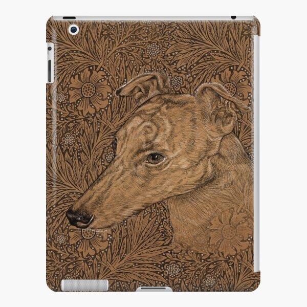 Yumi the greyhound on Morris marigolds iPad Snap Case
