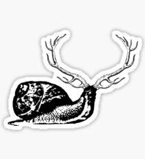 horny snail Sticker