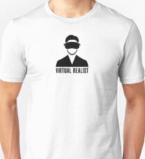 Virtual Realist - Black Clean T-Shirt