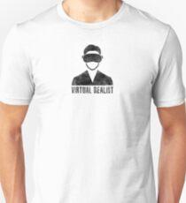 Virtual Realist - Black Dirty Slim Fit T-Shirt