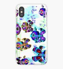Fun, Colorful Fish iPhone Case/Skin