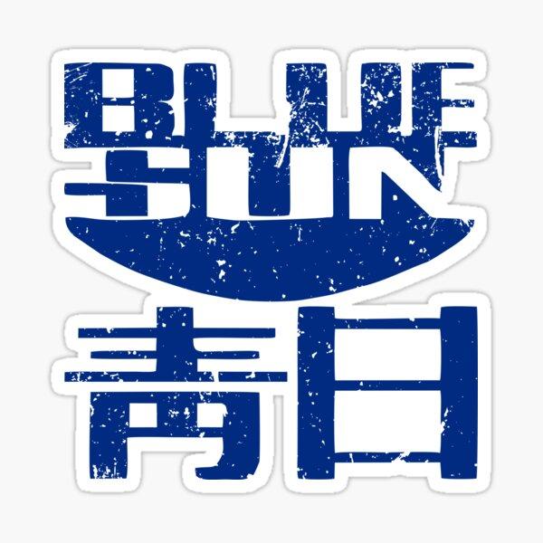 Blue Sun Sticker