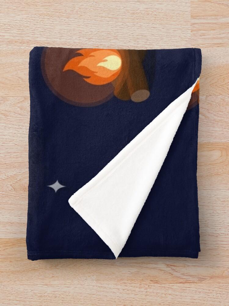 Alternate view of Fireside Pattern Throw Blanket