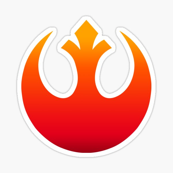 Emblem der Rebellenallianz Sticker