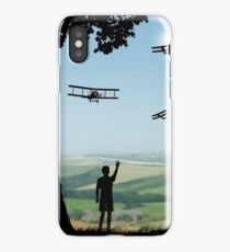 Childhood Dreams - The Flypast iPhone Case/Skin