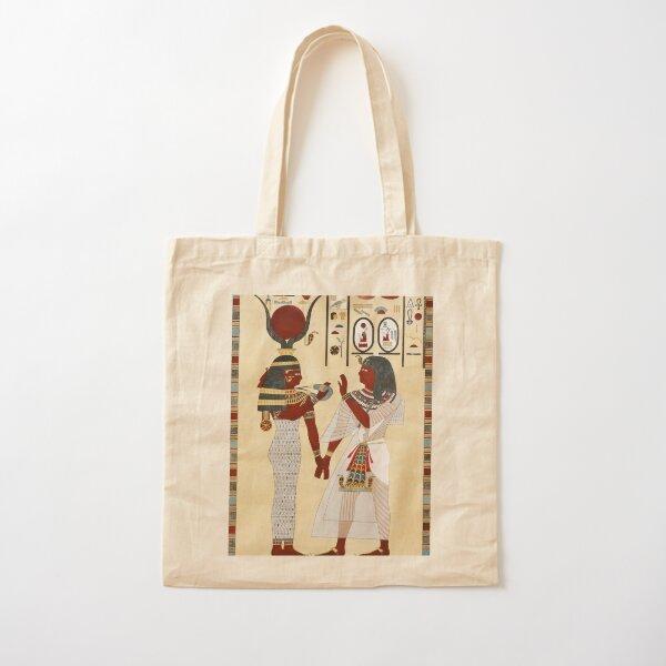 Goddess Isis Cotton Tote Bag