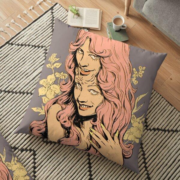 Double Trouble Floor Pillow