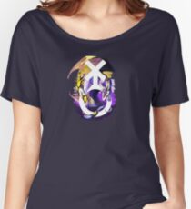 Non-Binary Pride Dragon Women's Relaxed Fit T-Shirt
