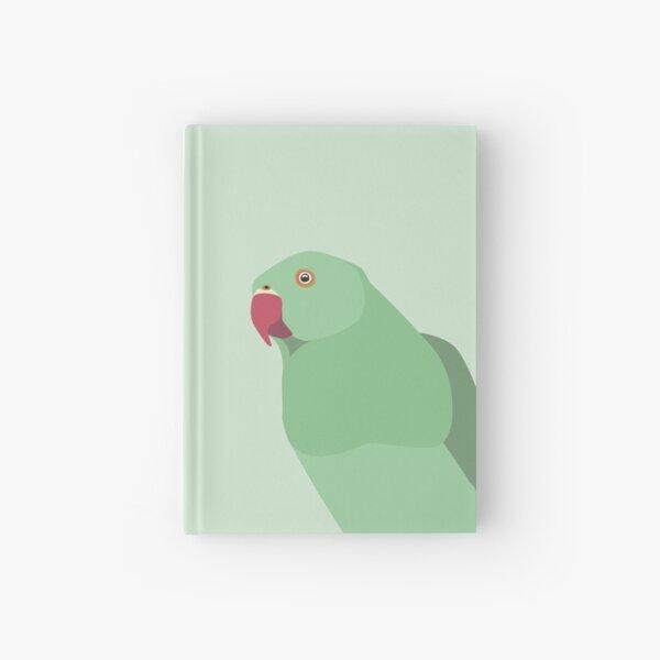 Parakeet close up Hardcover Journal
