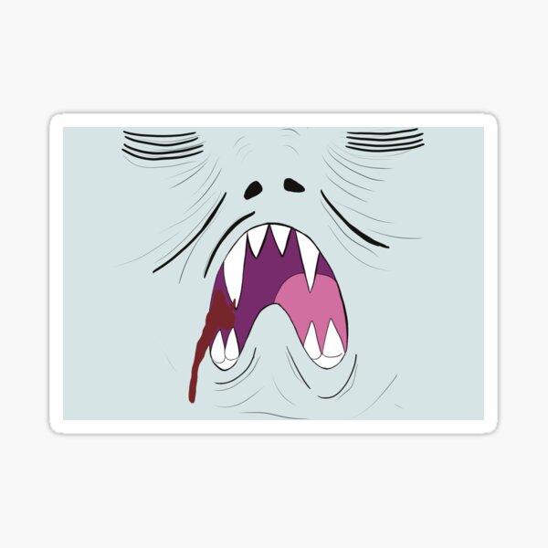 Vampire Hiss Sticker
