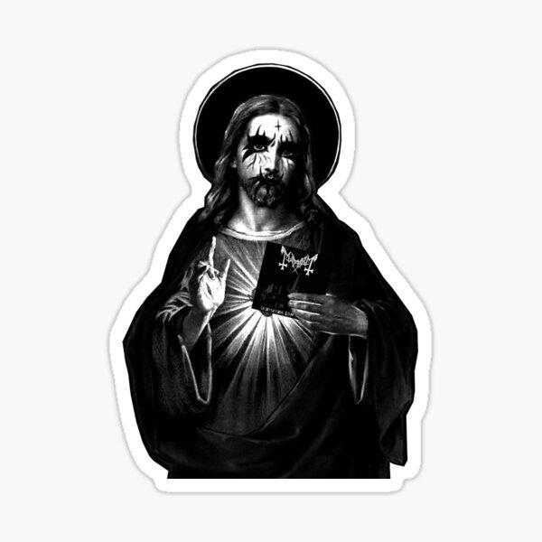 Kvlt Jesucristo Pegatina