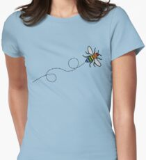Flying Manchester Bee, Rainbow Edition T-Shirt
