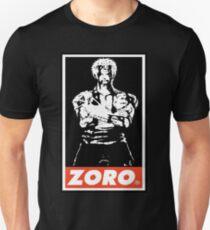 Roronoa Zoro Obey Unisex T-Shirt