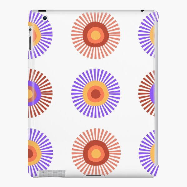 Hippy flowers iPad Snap Case