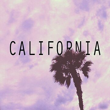 California Palm Tree | Purp by lawjfree