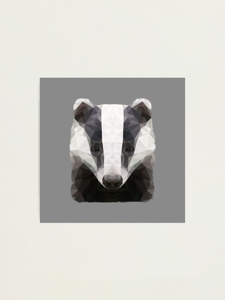 Alternate view of The Badger Photographic Print