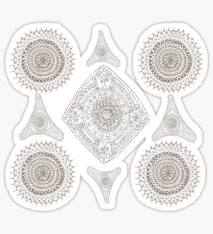 Many Mandalas Sticker