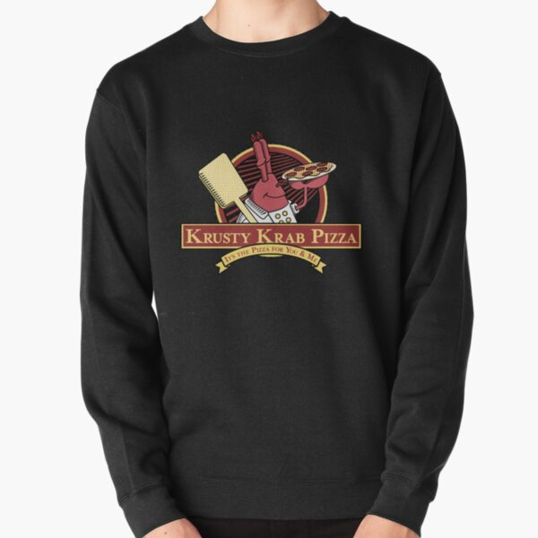 Krusty Krab Pizza Pullover Sweatshirt