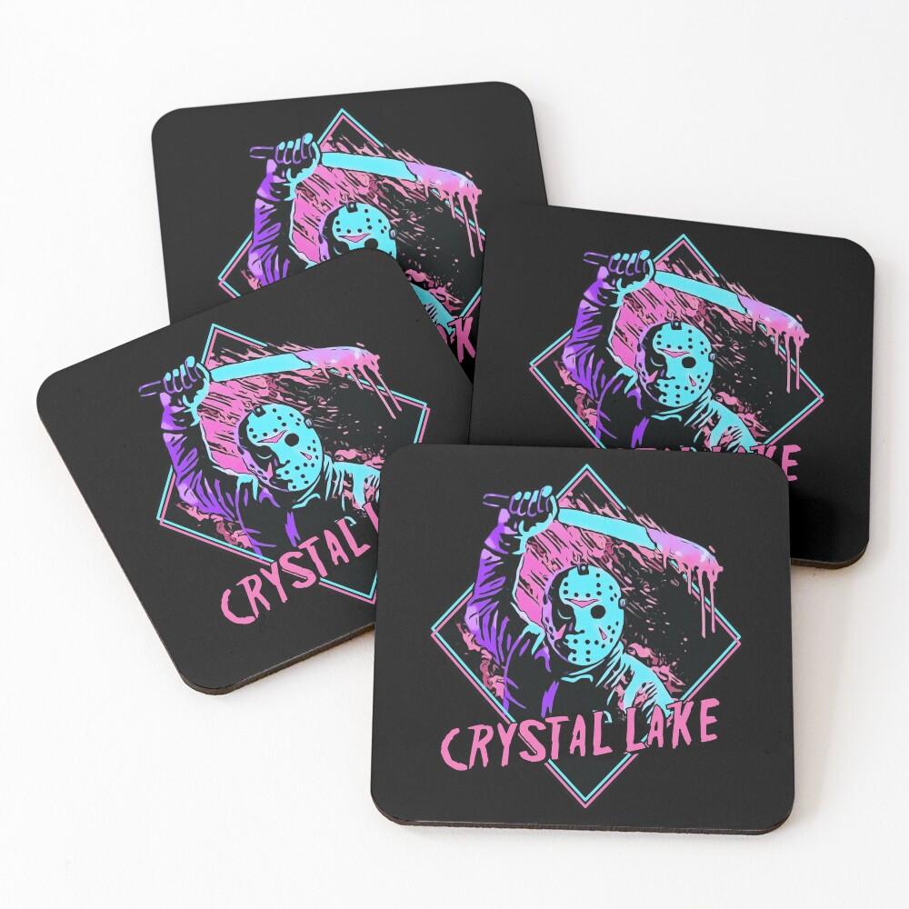 Jason Friday the 13th Coasters (Set of 4)