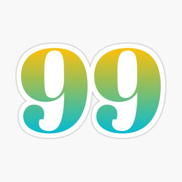 99 Names Of God Design 2021 Sticker