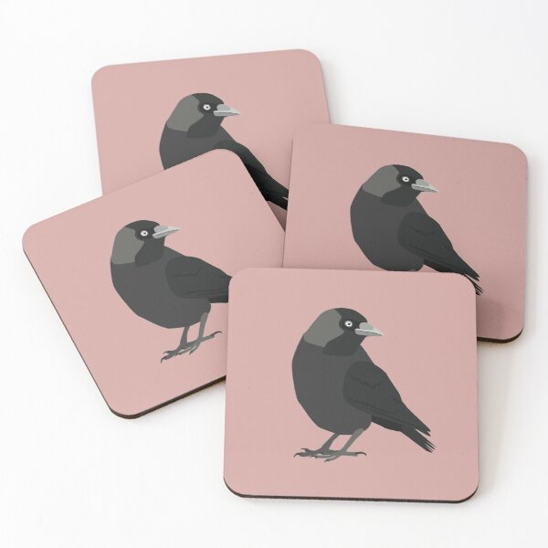 Jackdaw Coasters (Set of 4)